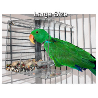 The Tidy Seed Birdfeeder Contains Your Bird S Seeds Keeps Cage Clean And Floor